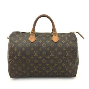 Auth Louis Vuitton Speedy 35 Satchel #N78621V30